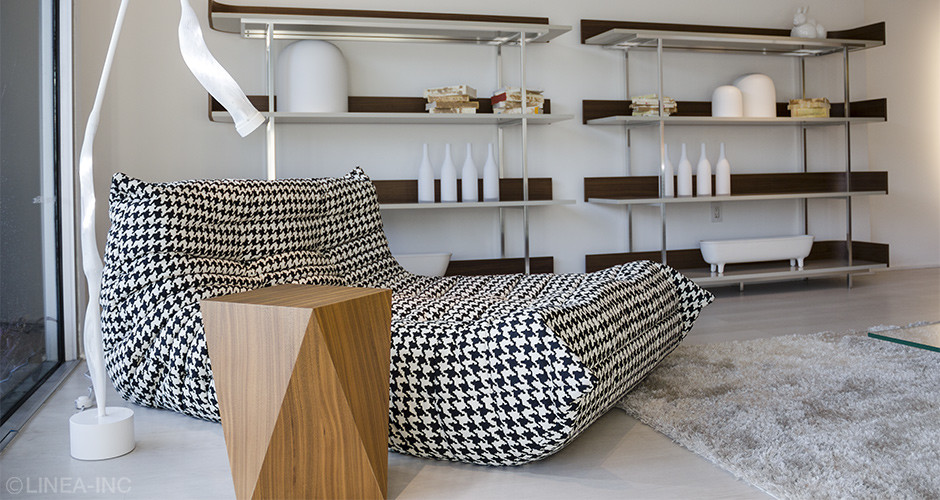 Togo Lounge by Ligne Roset Modern Lounges Los Angeles