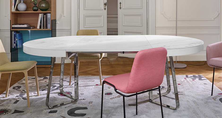 Ava Dining Table by Ligne Roset Modern Dining Tables Los Angeles
