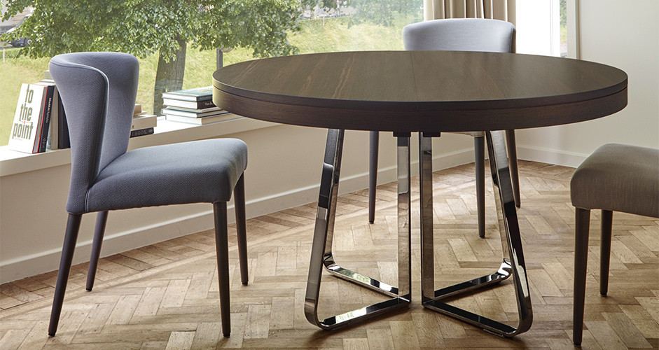 Ava Extensible Dining Table By Ligne Roset Modern Tables Los Angeles