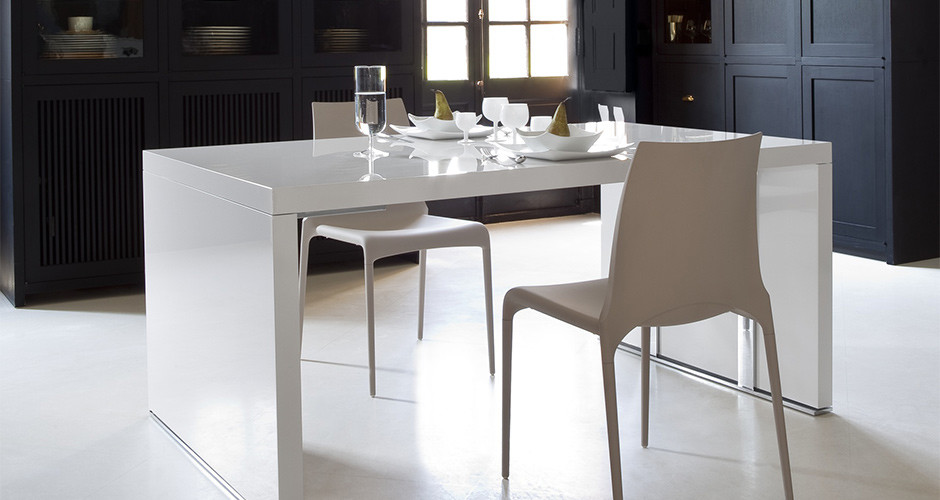 Cineline Extensible Dining Table by Ligne Roset Modern Dining Tables Los Angeles