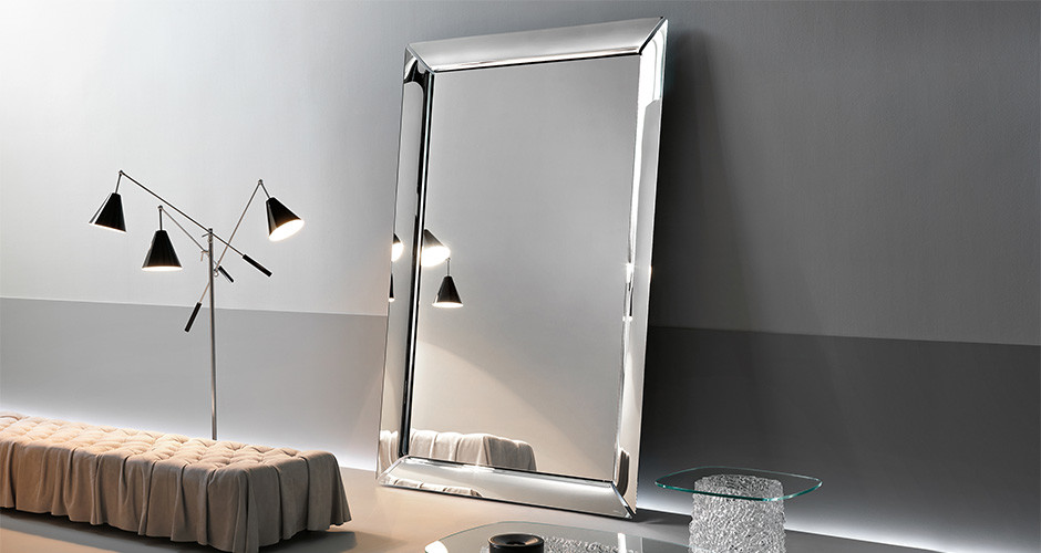 Caadre Free-Standing by Fiam Italia Modern Mirrors Los Angeles