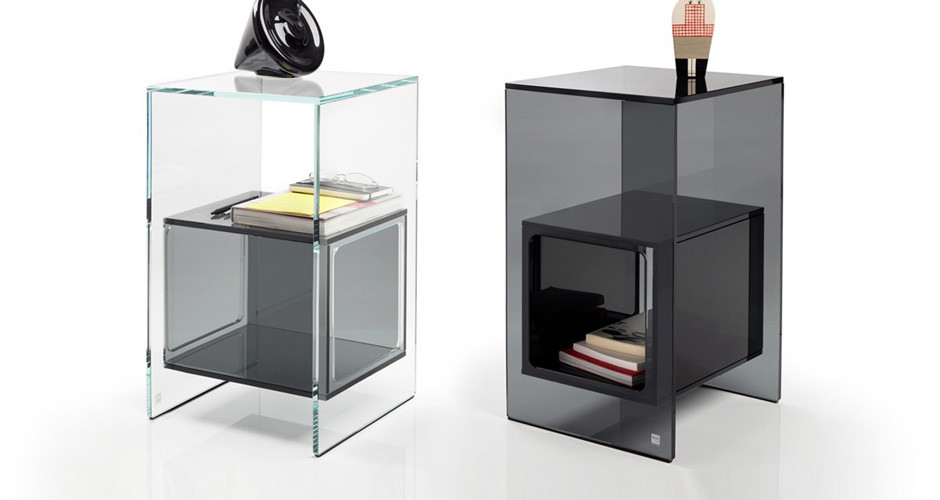 magique side table by fiam italia modern side tables los angeles