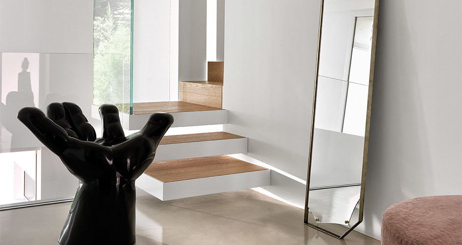 Pinch Mirror Collection By Fiam Italia Modern Accessories Los Angeles