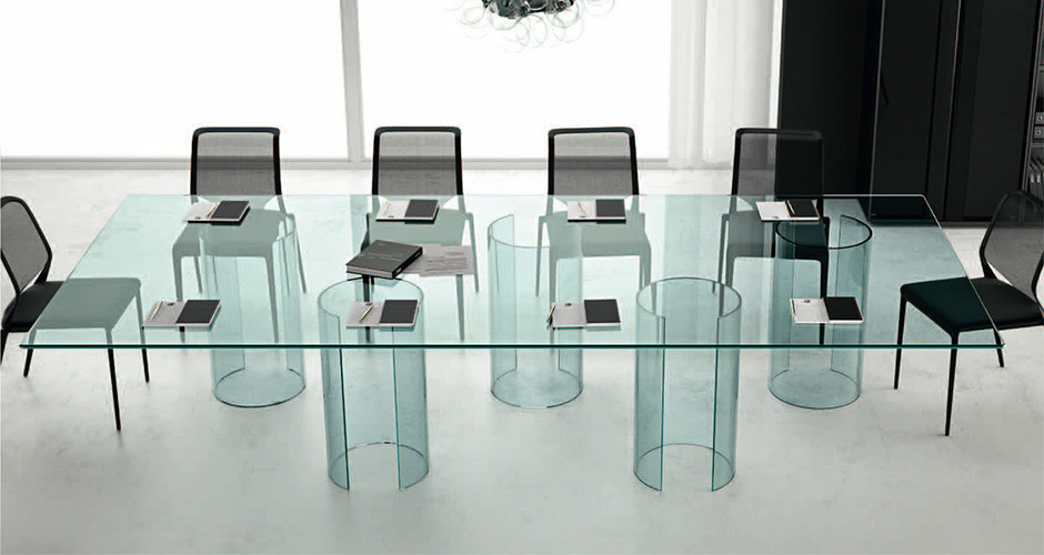 ... Luxor Conference Table By Fiam Italia Modern Office Los Angeles ...