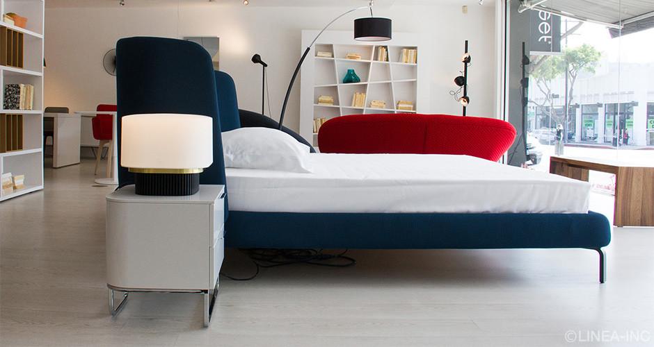 hyannis port by ligne roset modern nightstands linea inc modern furniture los angeles. Black Bedroom Furniture Sets. Home Design Ideas