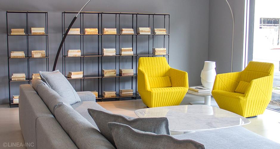 la bibliotheque fil by ligne roset modern storage linea inc modern furniture los angeles. Black Bedroom Furniture Sets. Home Design Ideas