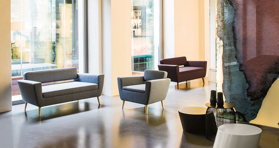 ... Serie 50w Armchair Collection By La Cividina Modern Arm Chairs Los  Angeles ...