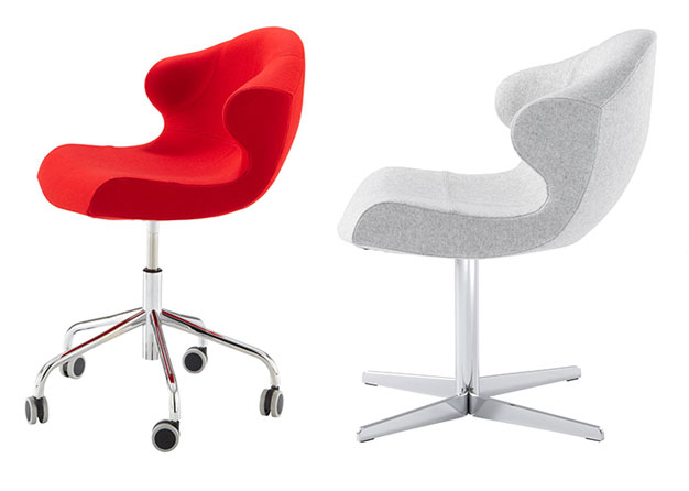 modern desk chair. Alster Desk Chair By Ligne Roset Modern Chairs Los Angeles