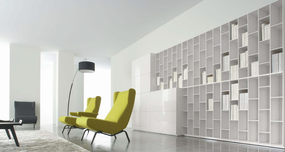 book look by ligne roset modern storage linea inc. Black Bedroom Furniture Sets. Home Design Ideas