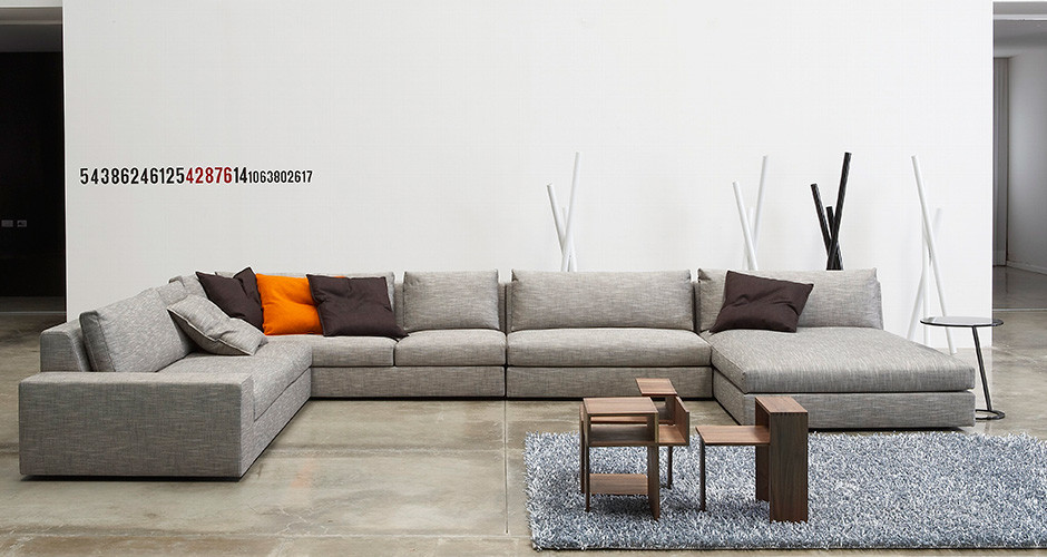 exclusif by ligne roset modern sofas linea inc modern furniture los angeles. Black Bedroom Furniture Sets. Home Design Ideas