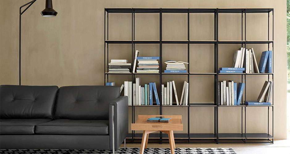 la bibliotheque fil by ligne roset modern storage. Black Bedroom Furniture Sets. Home Design Ideas