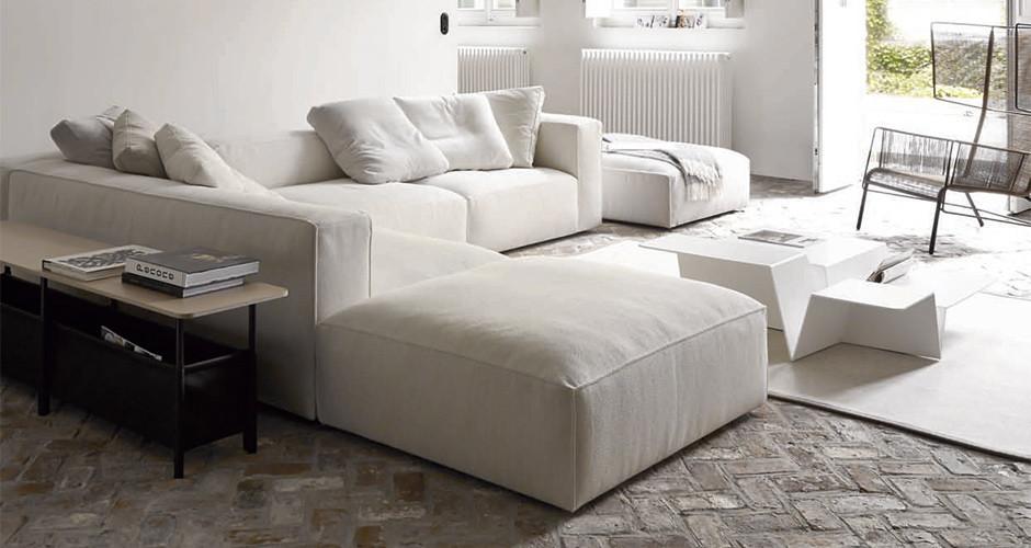 nils by ligne roset modern ottomans benches linea inc modern furniture los angeles. Black Bedroom Furniture Sets. Home Design Ideas