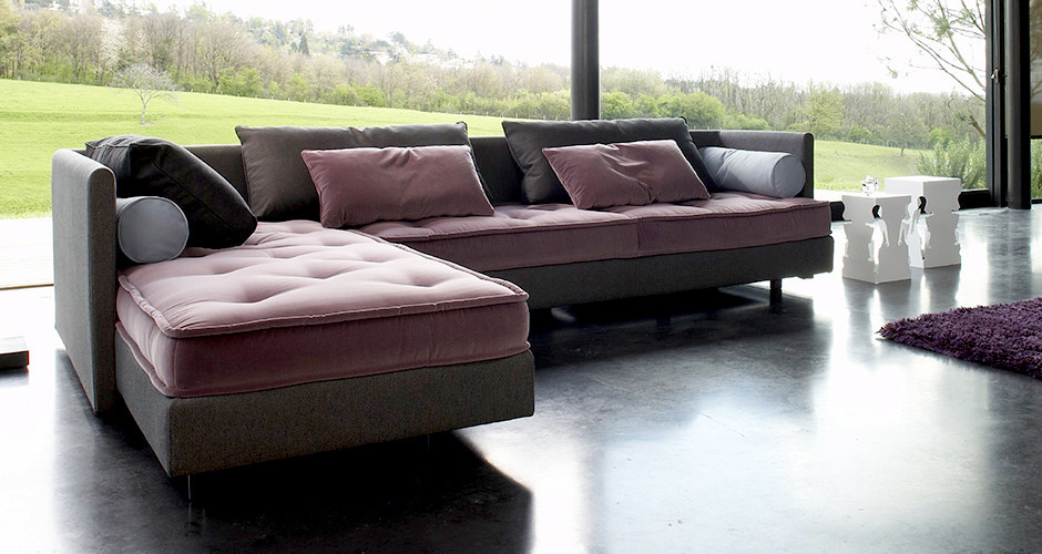 Modern sofas los angeles confluences by ligne roset modern for Modern sectional sofa in los angeles