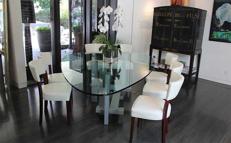 Sculptor Table by Willy Ballez Modern Dining Tables Los Angeles