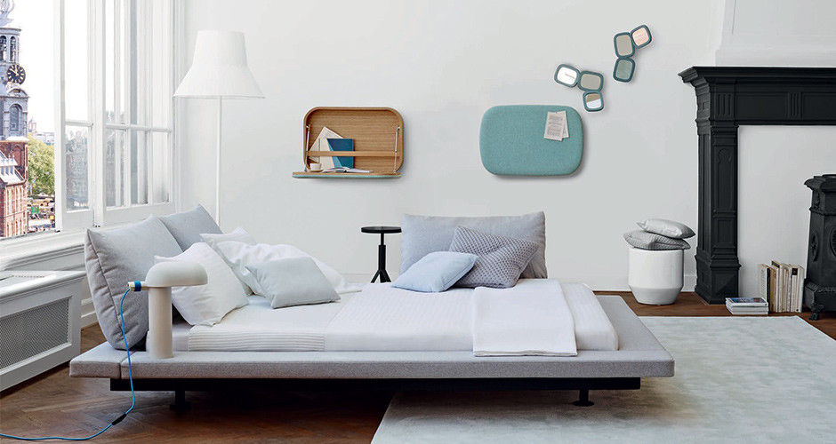 Peter Maly 2 Bed by Ligne Roset Modern Beds Los Angeles