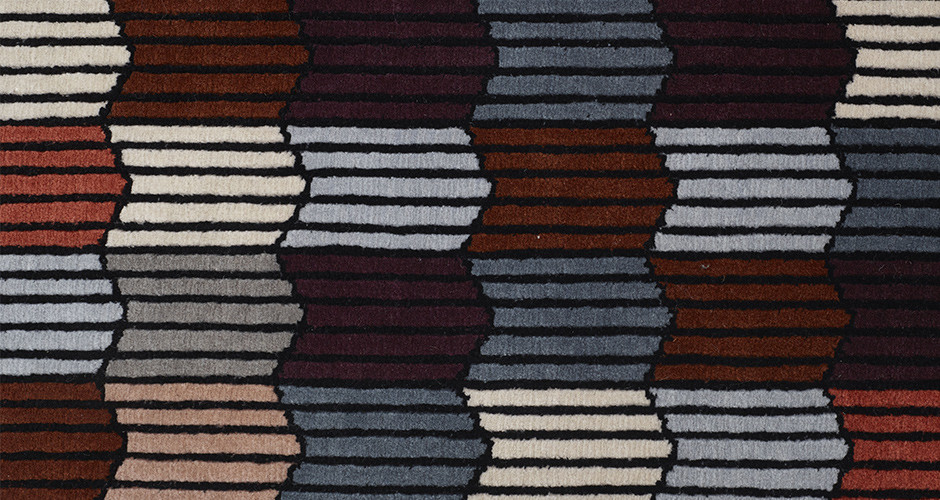 Memoire d une trame by ligne roset modern rugs linea for Modern rugs los angeles