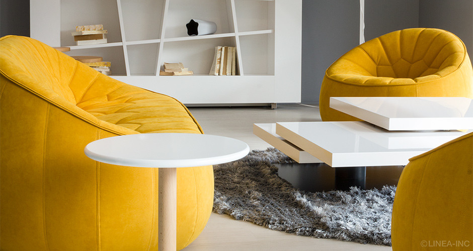 Ottoman Armchair by Ligne Roset Modern Arm Chairs Los Angeles