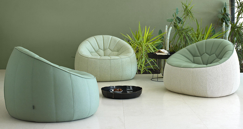 ... Ottoman Armchair By Ligne Roset Modern Office Los Angeles ...