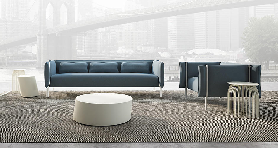 Pinch by la cividina modern sofas linea inc modern for Modern furniture los angeles