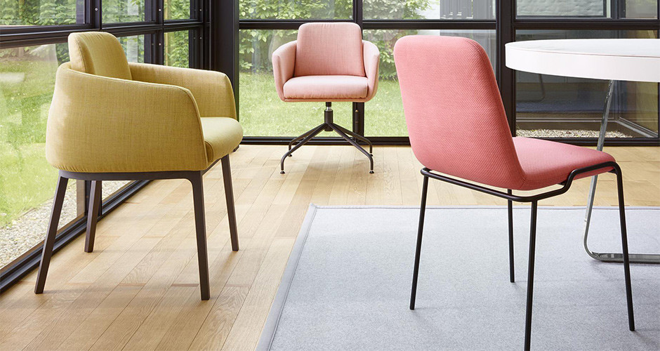Tadao Desk Chair by Ligne Roset Modern Desk Chairs Los Angeles