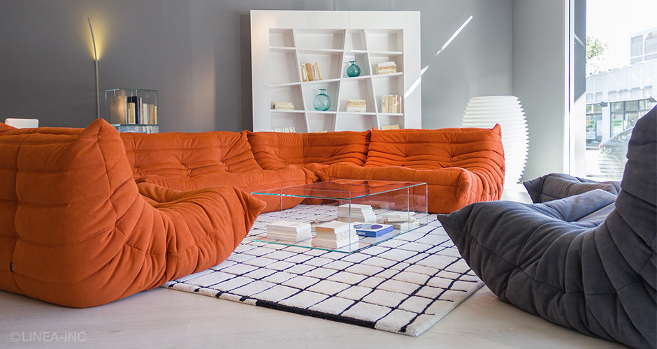 togo by ligne roset modern sofas linea inc modern furniture los angeles. Black Bedroom Furniture Sets. Home Design Ideas