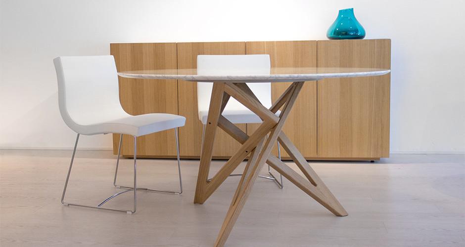 sala by ligne roset modern dining chairs linea inc modern furniture los angeles. Black Bedroom Furniture Sets. Home Design Ideas