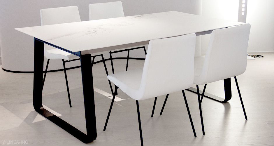 Vilna By Ligne Roset Modern Dining Tables Linea Inc